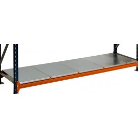 600mm - Galvanised Longspan Racking Shelves
