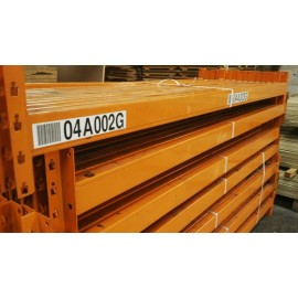 Used Dexion Pallet Racking Beams
