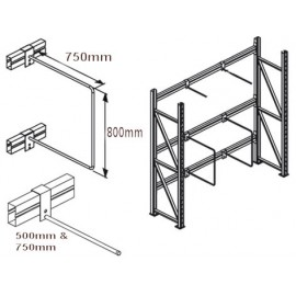 Pallet Racking Vertical Dividers
