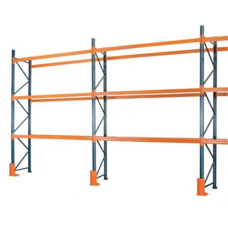 Mecalux Heavy Duty Industrial Pallet Racking Frame