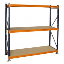 600mm Longspan Shelving Starter Bay