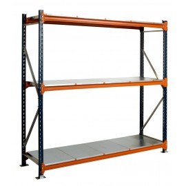 600mm Galvanised Longspan Shelving Starter Bay