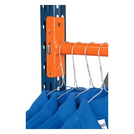 Side Rail for Longspan Clothing System