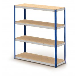 1830mm wide - Heavy Duty Boltless Widespan Stockroom Shelving unit