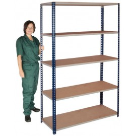 EasyFit Boltless Stockroom Shelving 5 Shelf Unit