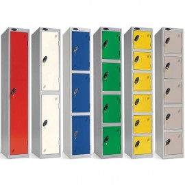 Probe 1 - 6 Door Lockers