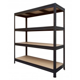 HD ECO200/60 Black Boltless Shelving