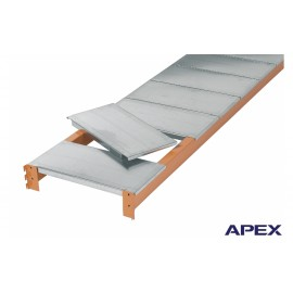 Used Apex Galvanised Shelf Levels