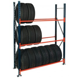 Longspan Tyre Storage Racking Beams