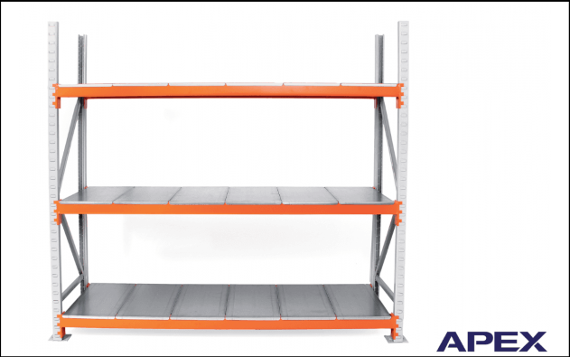 Used Apex Heavy Duty Longspan Racking